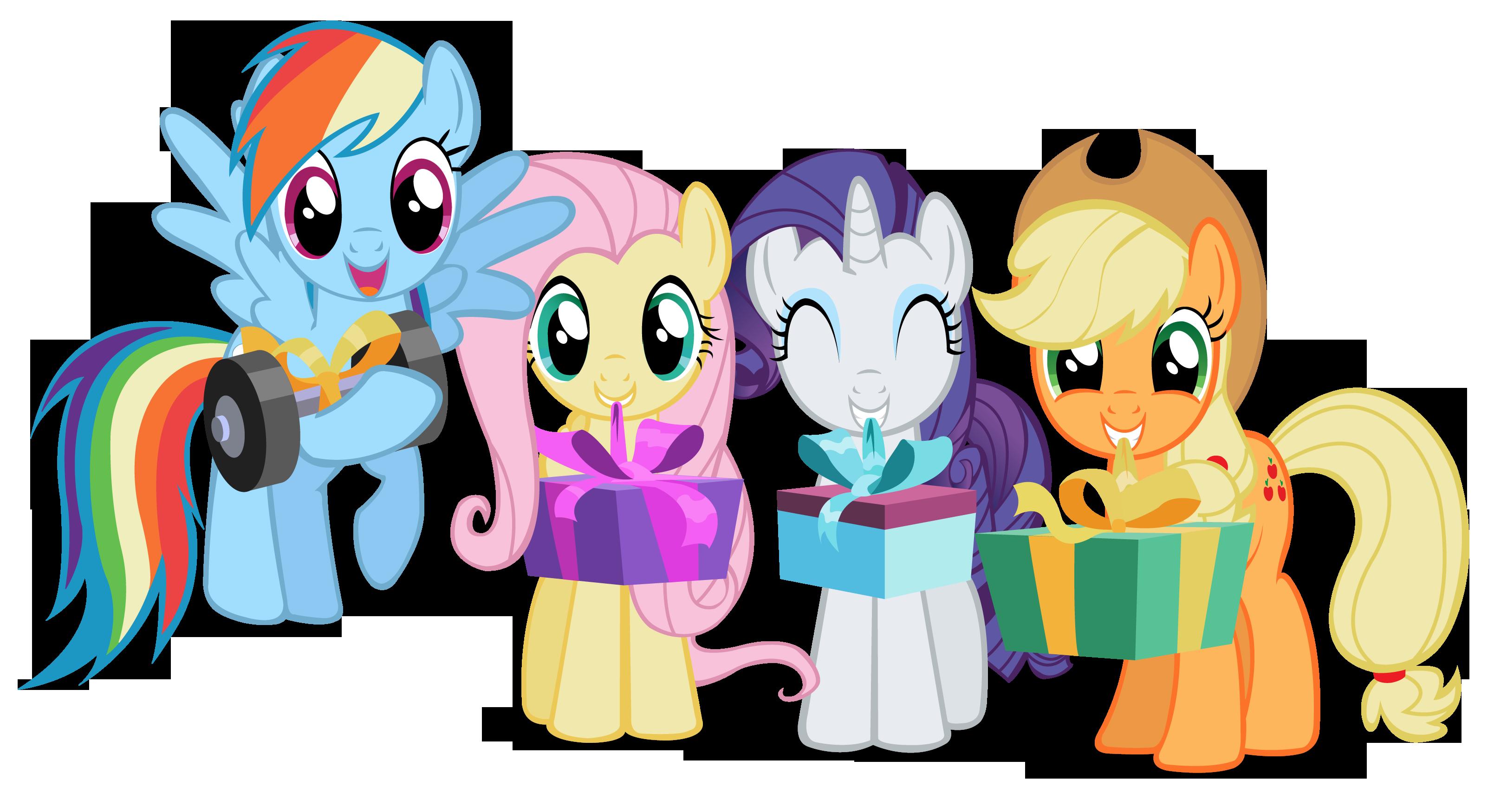 My Little Pony Birthday Clipart.
