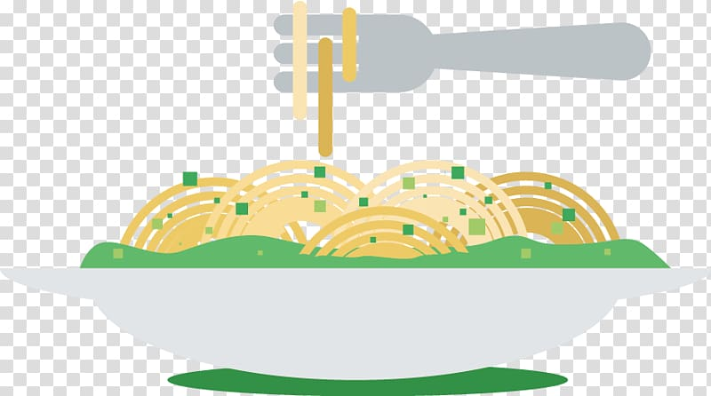 Pasta Noodle, fork pasta dish transparent background PNG.