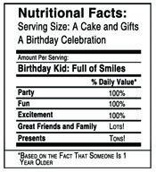 Nutrition Label Clipart.