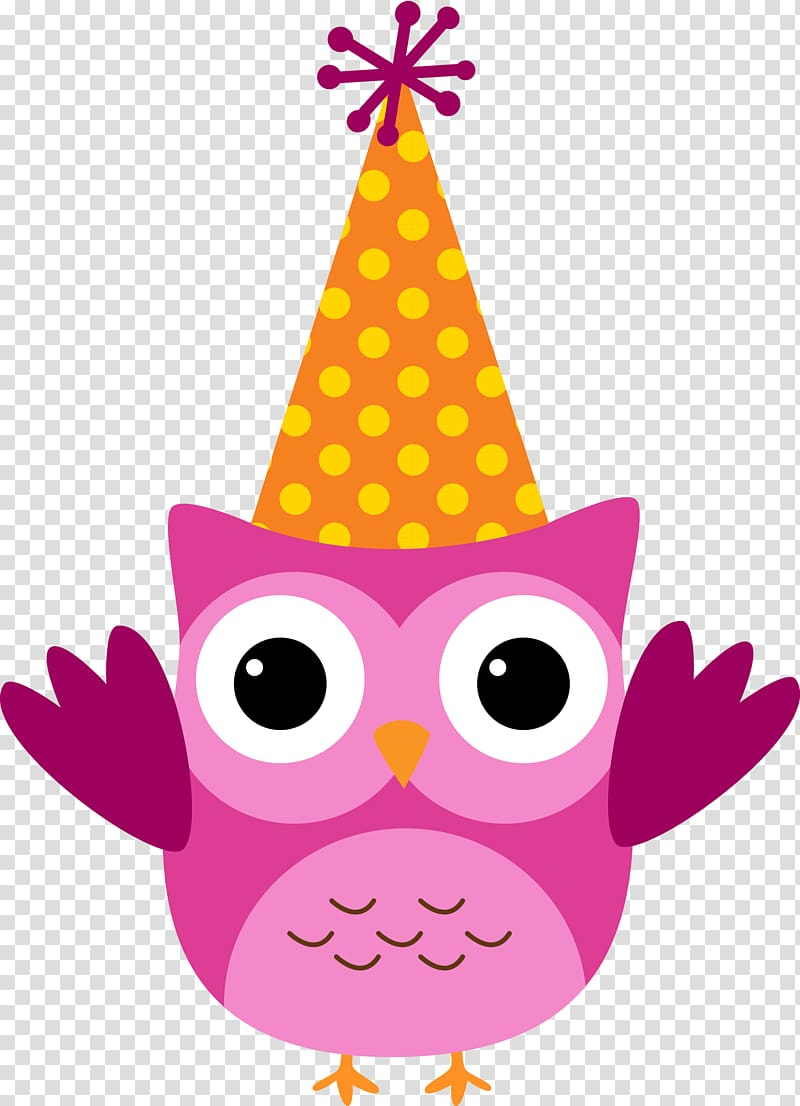 Birthday cake Owl , owls transparent background PNG clipart.