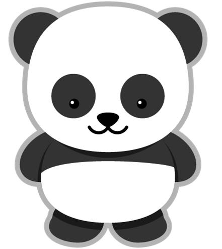 Panda ClipArt ….
