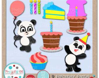 Birthday panda.