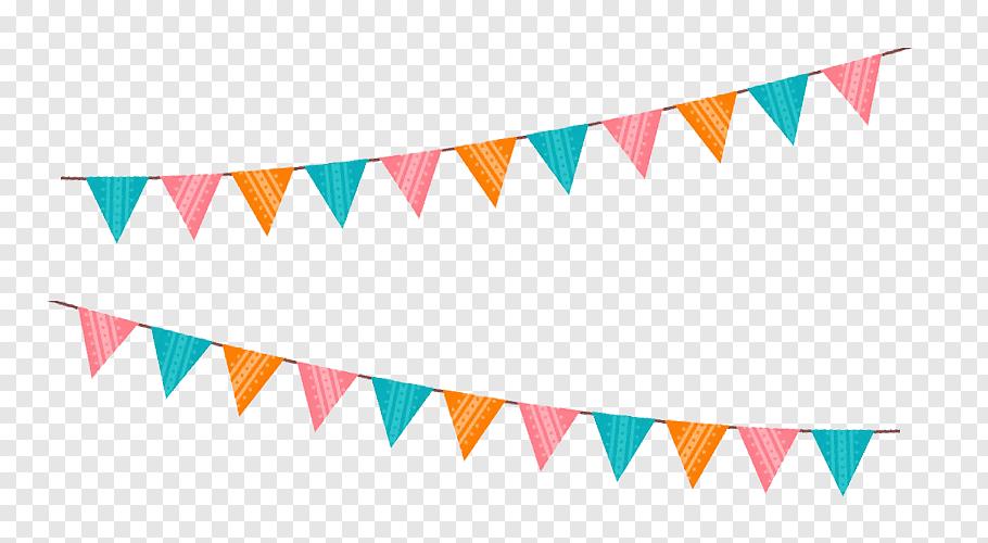 Birthday Party, Banner, Flag, Birthday , Cartoon, Drawing.