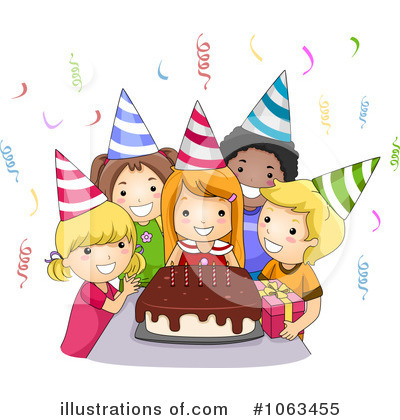 Clip Art Birthday Party Clipart.