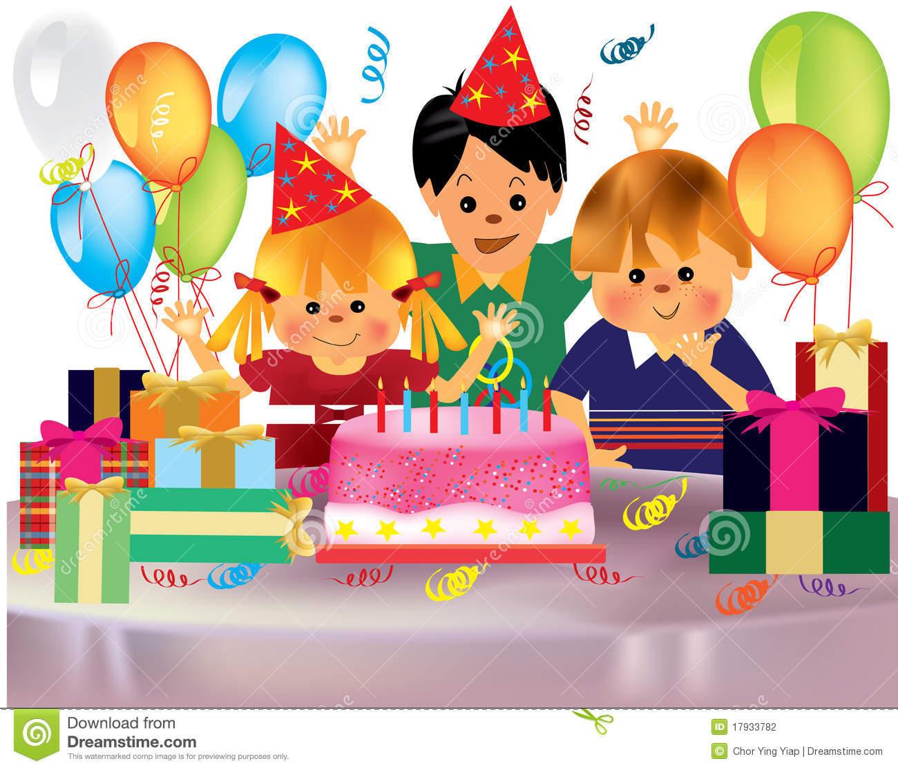 Birthday Party Clip Art & Birthday Party Clip Art Clip Art Images.