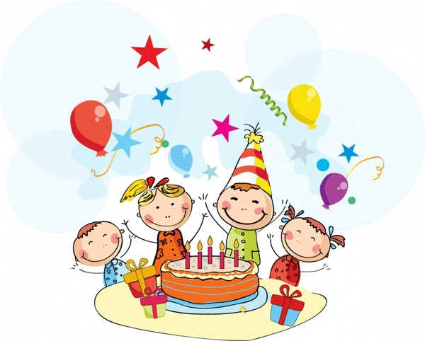 Free Birthday Party Clip Art, Download Free Clip Art, Free.