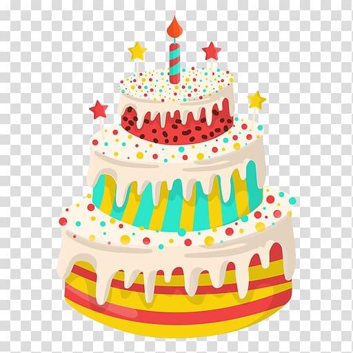 Birthday cake Greeting & Note Cards Happy Birthday to You.