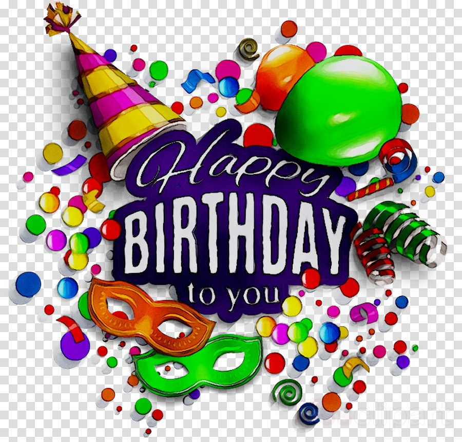 Happy Birthday Cartoon clipart.