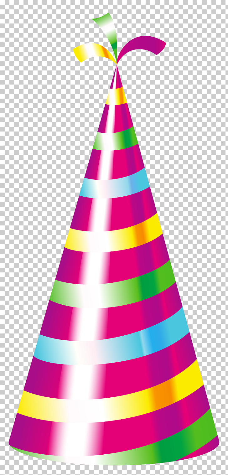 Birthday Party hat , Party Hat , purple and multicolored.
