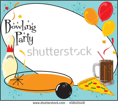 Slumber Birthday Party Invitation Clipart Stock Vector 40452898.