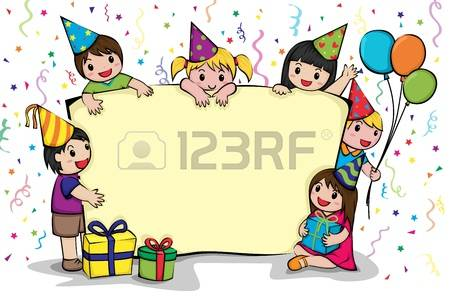 28,099 Kids Birthday Party Cliparts, Stock Vector And Royalty Free.