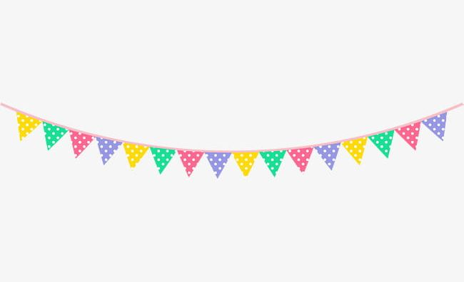 Cartoon Color Flag PNG, Clipart, Birthday, Birthday Party.