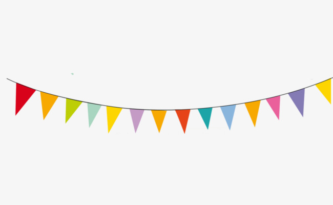 Pennant Banner Clipart Png.