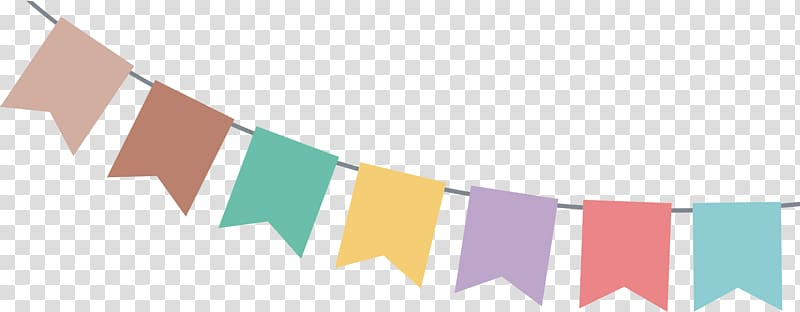 Halloween Web banner Bunting Party Birthday, Bunting , blue.