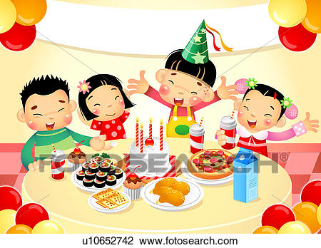 Birthday party clipart 6 » Clipart Station.