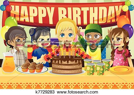 Birthday party Clipart Royalty Free. 105,825 birthday party clip.