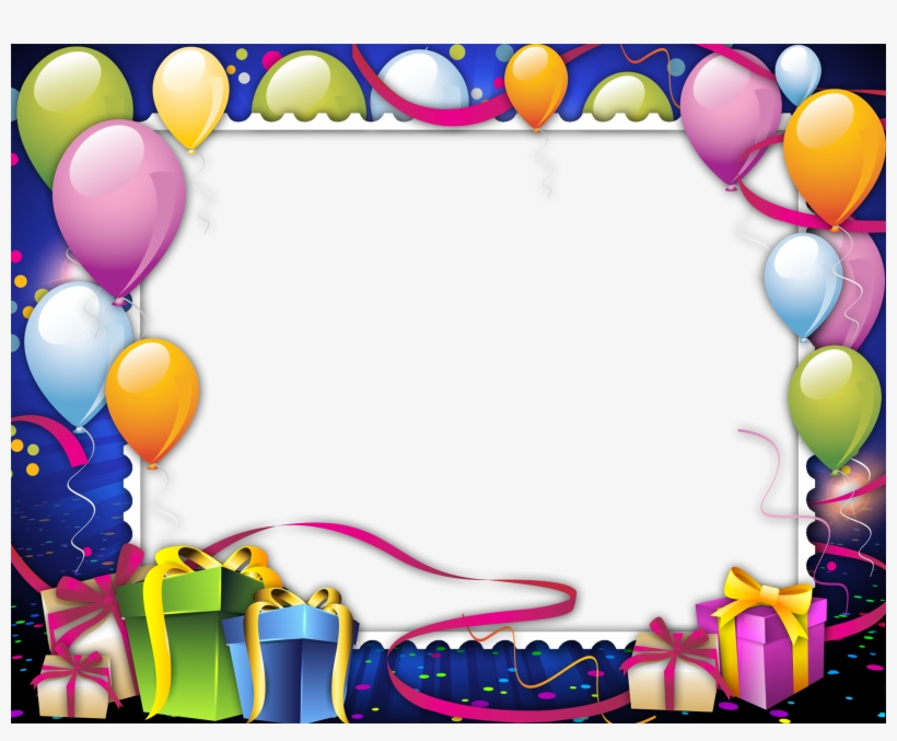 Birthday Frame Png Images Free Download Clip Free.