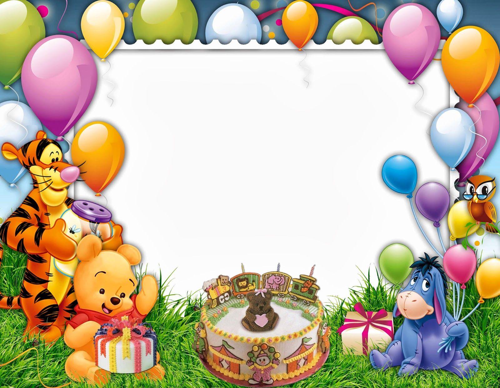 Kids Birthday Frame.