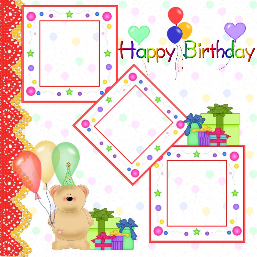 Free Birthday Frames, Download Free Clip Art, Free Clip Art on.