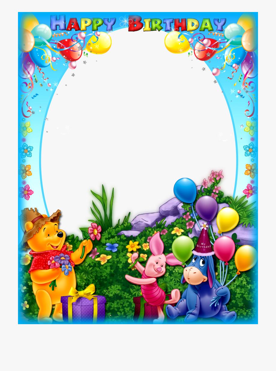 Happy Birthday Frame Png.