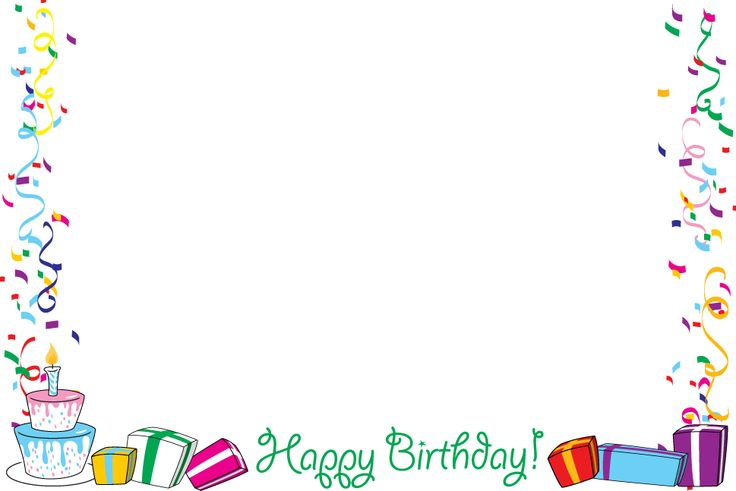 Free Birthday Frame, Download Free Clip Art, Free Clip Art.
