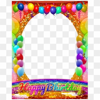 Free Happy Birthday Frames Images PNG Images.