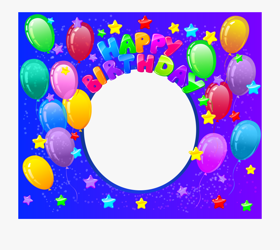 Happy Birthday Transparent Png Frame #2019212.