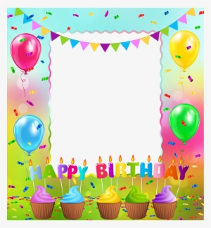 Happy Birthday Frames Png Images PNG Images.