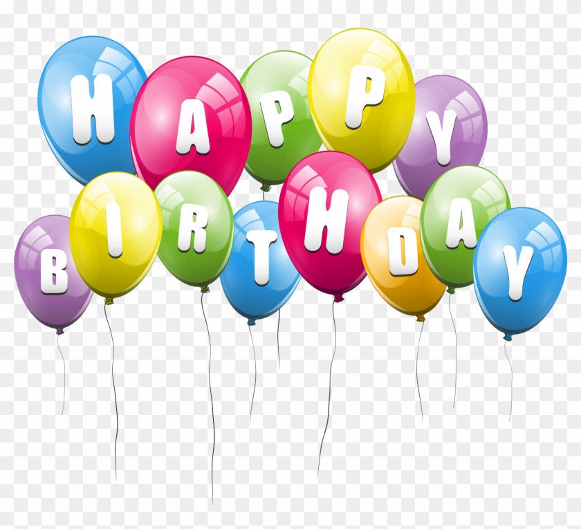 Happy Birthday Transparent Png Pictures.