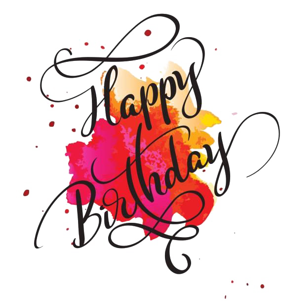 Happy Birthday PNG Images Transparent Free Download.