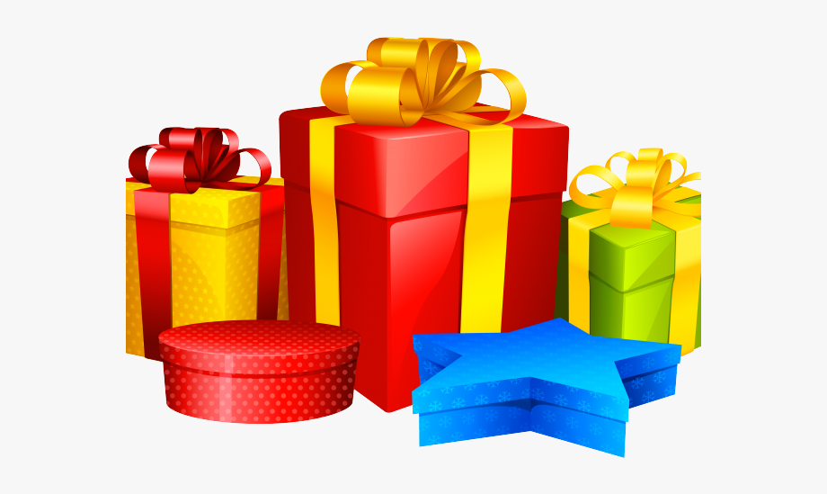 Birthday Present Clipart Transparent Background.
