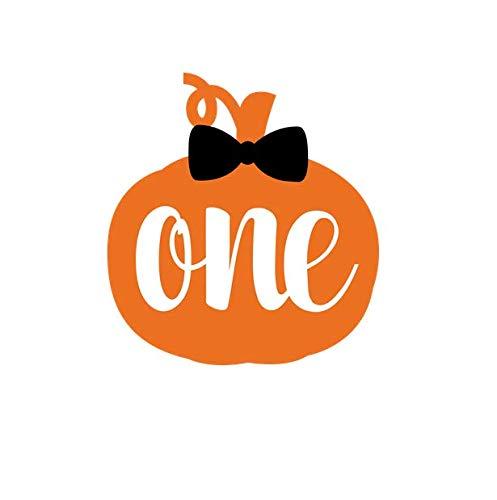Amazon.com: Pumpkin 1st Birthday Sticker, 1st Birthday Favor.