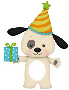 Free Puppy Birthday Cliparts, Download Free Clip Art, Free Clip Art.