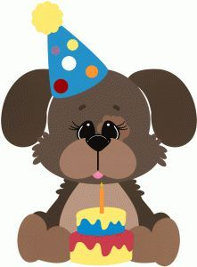 Birthday puppy clipart » Clipart Portal.
