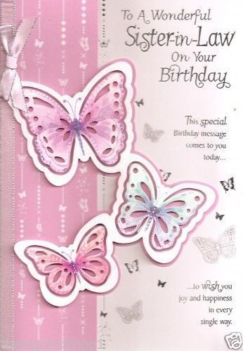 In law birthday wishes clipart.