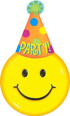 Free Party Smileys Cliparts, Download Free Clip Art, Free.