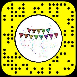 Happy Birthday Snapchat Lens & Filter.