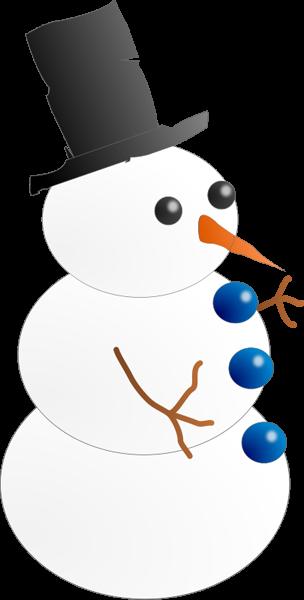 Snowman Clipart.