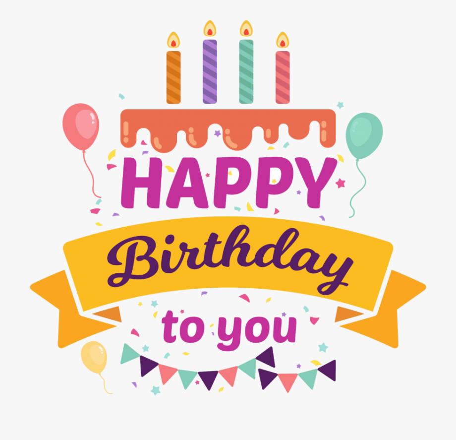 Happy Birthday Logo Design Png.
