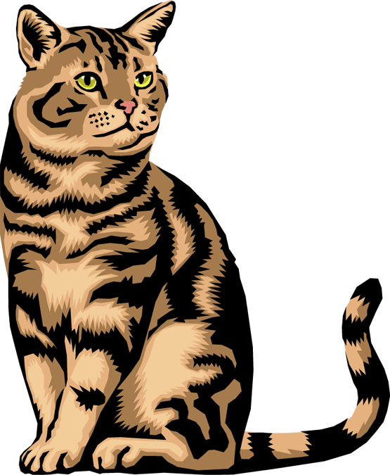 Dog and cat clip art free clipart image.