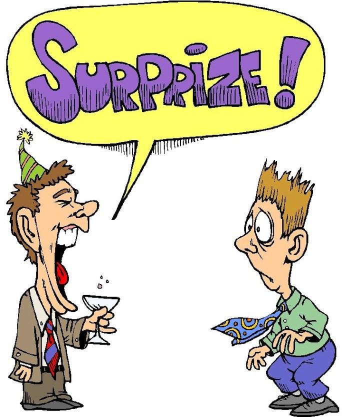 Birthday Surprise Clipart.