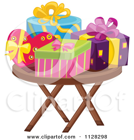 Birthday table clipart #15