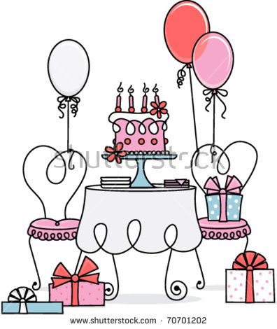 Birthday Table Stock Vectors, Images & Vector Art.