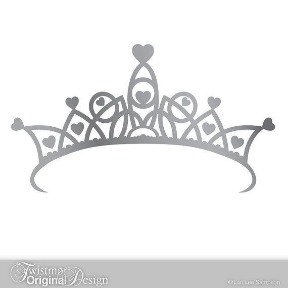 Princess Crown Decal.