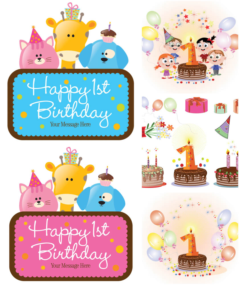 Free Vector Birthday, Download Free Clip Art, Free Clip Art.