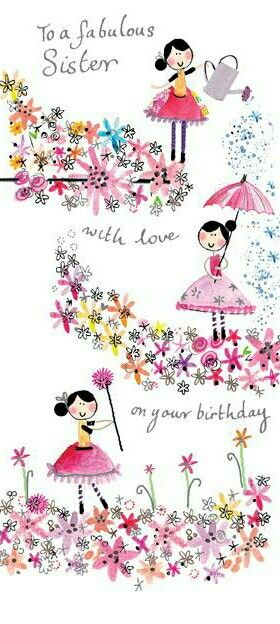 To my fabulous sister Jane on her 50th birthday ,love from.