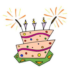 Kids Birthday Party Clip Art.