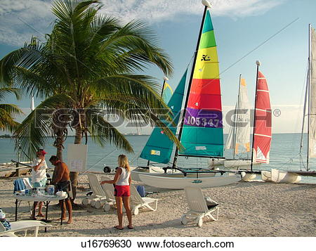 Stock Photography of Key Biscayne, Miami, FL, Florida, Virginia.
