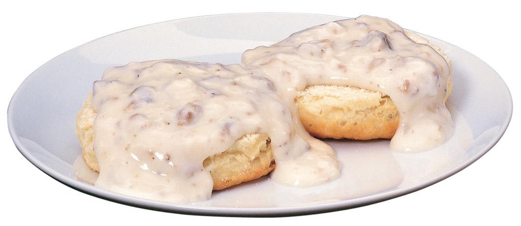Gravy Biscuit.