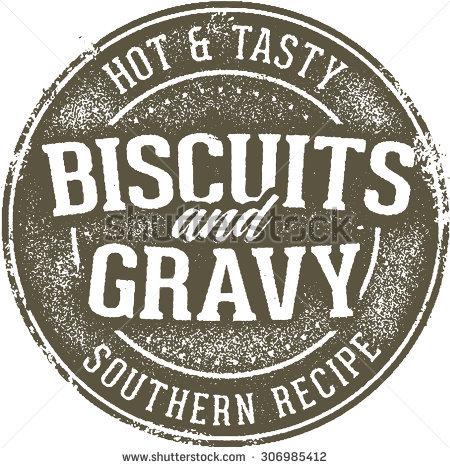 Biscuits And Gravy Stock Images, Royalty.